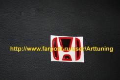 Наклейка на руль для Honda fit GE 07-2013 цвет красный gp1 В наличии. Honda Insight Honda Fit, GE7, GP1, GE6, GP4, GE9, GE8 Honda Stream. Под заказ