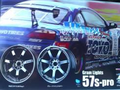 RAYS Gram Lights. 7.5/8.5x17, 5x114.30, ET30/30, ЦО 72,0мм.