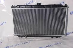 Радиатор охлаждения двигателя. Infiniti G20 Nissan Primera Camino, HP11, P11, WHNP11, WHP11, QU14 Nissan Bluebird, ENU14, QU14, HU14, EU14 Двигатели...