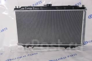 Радиатор охлаждения двигателя. Nissan Primera Camino, WHNP11, WP11, HP11, WHP11, HNP11, P11 Nissan Bluebird, HNU14, ENU14, HU14, EU14 Infiniti G20 Дви...