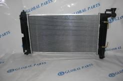 Радиатор охлаждения двигателя. Toyota Corolla, ZZE123L, NZE124, ZZE121L, ZZE120L, ZZE120, ZZE121, NZE120, ZZE122, ZZE123, NZE121, ZZE124 Toyota Coroll...