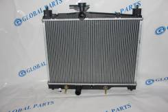 Радиатор охлаждения двигателя. Toyota Platz, SCP11, SCP10