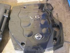 Крышка двигателя. Nissan Skyline, V35 Двигатель VQ25DD