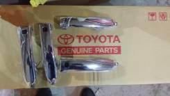Хромированные ручки дверей с кнопками на TLC200 Lexus LX570. Lexus LX570 Toyota Land Cruiser, UZJ200W, VDJ200, J200, URJ202W, URJ202, UZJ200 Двигатели...