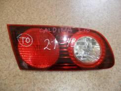 Вставка багажника. Toyota Caldina, 210