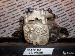 Механическая коробка переключения передач. Hyundai Elantra