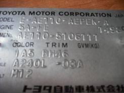 Передняя часть автомобиля. Toyota Corolla, AE110