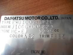 Половина кузова. Daihatsu Terios, J100G