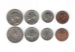 Набор Монет Америки