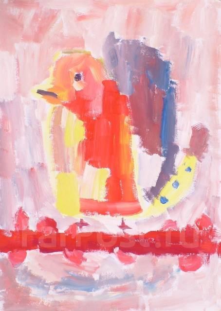 Студия Живописи с 4 лет. Детское творчество. Maslacoff ART Gallery.