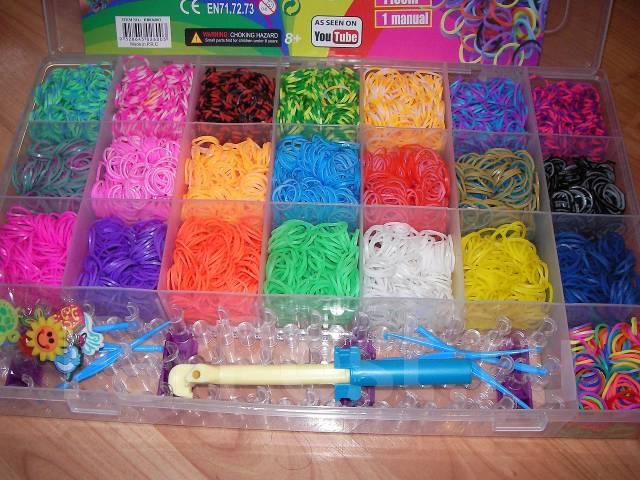 Где купить наборы из резинок для браслетов