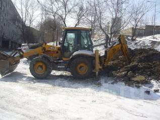 Уборка территорий и вывоз мусора, грунта