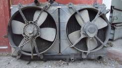 Радиатор охлаждения двигателя. Toyota Corolla Toyota Corona Двигатель 3E