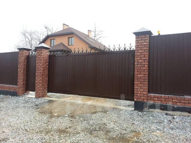 Автоматические Ворота Заборы, все виды строительных работ, Спецтехника