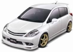 Nissan Tiida C11 Impul Передний бампер. Отправка.