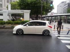 Порог пластиковый. Nissan Tiida, C11, C11X