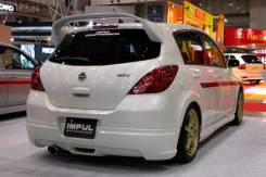 Губа. Nissan Tiida, C11
