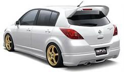 Обвес кузова аэродинамический. Nissan Tiida, C11