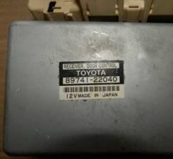 Блок управления центральным замком 89741-22040. Toyota Mark II, JZX90 Двигатель 1JZGE