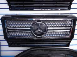 Решетка радиатора. Mercedes-Benz G-Class