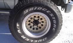 Bridgestone. 8.0x15, 6x139.70, ET-40, ЦО 110,0мм.
