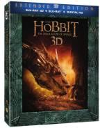 Хоббит: Пустошь Смауга (Расширенное издание Blu-Ray 3D + Blu-Ray). Под заказ