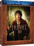Хоббит: Нежданное путешествие (Расширенное издание Blu-Ray 3D + Blu-R)