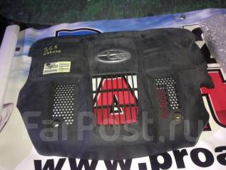 Защита двигателя пластиковая. Subaru Forester, SG5 Двигатель EJ20
