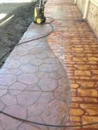Декоративный печатный бетон - облицовка любых поверхностей