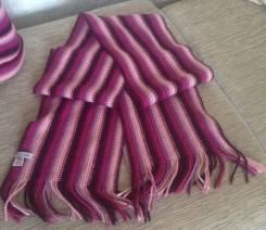 Шапка, шарф и перчатки. Рост: 146-152 см