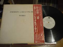 ELP / Emerson, Lake & Palmer - Works Vol 2 - JP LP 1977