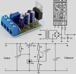 Радиоконструктор RP212. Регулируемый стабилизатор напряжения 3..27 В, 10 А