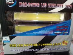 Фары светодиодные ходовые огни (1 COB диод 8W 6000К 150*30*45мм),. Toyota Super