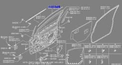 Наклейка. Nissan Versa Nissan Tiida Двигатели: HR16DE, MR18DE, K9K