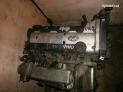 Двигатель в сборе. Hyundai Tiburon Hyundai Matrix Hyundai Elantra Двигатель G4GB