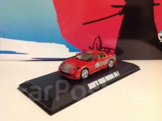 """Коллекционная модель Mazda RX-7 из х/ф """"Форсаж"""" 1:43"""