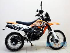 Мотоцикл кроссовый оранжевый RACER RC150-GY ENDURO, 2016. 150 куб. см., исправен, птс, без пробега