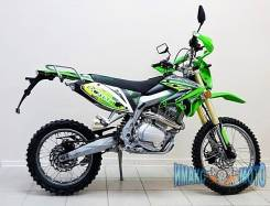 Мотоцикл Racer Enduro RC200XZT 200 см3 зелёный, 2016. 200 куб. см., исправен, без птс, без пробега