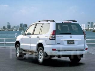 Бампер. Toyota Land Cruiser Prado, GRJ120, GRJ120W, GRJ121W, GRJ125W, KDJ120, KDJ120W, KDJ121W, KDJ125W, LJ120, RZJ120W, RZJ125W, TRJ120, TRJ120W, TRJ...