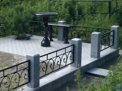 Памятники, оградки, укладка брусчатки (Уссурийск)
