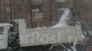 Уборка территорий и вывоз снега , мусора, грунта