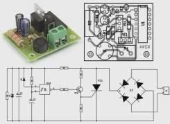 Радиоконструктор RL244. Блок выключения света с временной задержкой