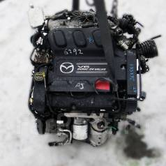 Двигатель в сборе. Mazda MPV Mazda Tribute Двигатели: AJ, AJDE, AJV6