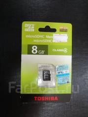 MicroSD. 8 Гб, интерфейс SATA