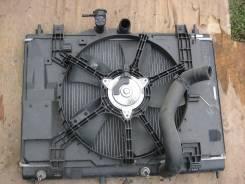 Радиатор охлаждения двигателя. Nissan Wingroad, Y12 Двигатель HR15DE
