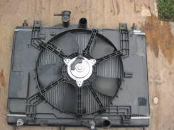 Радиатор охлаждения двигателя. Nissan Tiida, JC11, NC11, C11, SC11, SNC11, SZC11 Nissan Tiida Latio, SNC11, SZC11, SC11 Двигатели: HR16DE, HR15DE, MR1...