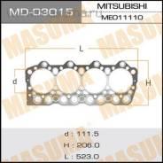 Прокладка головки блока цилиндров. Mitsubishi Canter Двигатель 4D35