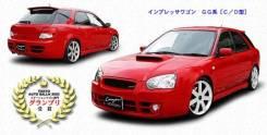 Обвес кузова аэродинамический. Subaru Impreza, GG