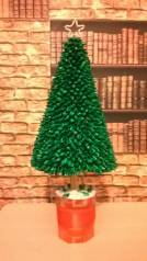Новогодняя елочка в стиле кандзаши
