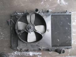 Радиатор охлаждения двигателя. Mazda Familia Mazda Demio, DW5W
